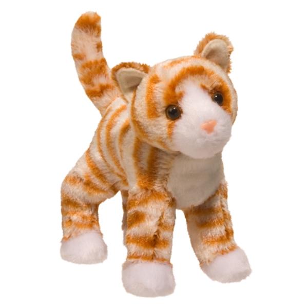 Hally The Little Plush Orange Striped Cat By Douglas At Stuffed Safari