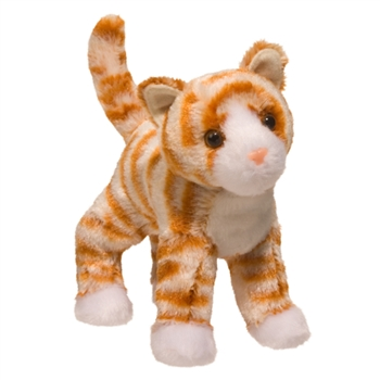 Hally the Little Plush Orange Striped Cat by Douglas