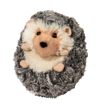 Spicy the Little Plush Gray Baby Hedgehog by Douglas