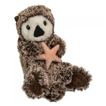 Cruz the Stuffed Otter With Starfish by Douglas