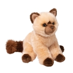 Mitzy the Sitting Plush Himalayan Cat by Douglas