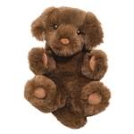 Stuffed Baby Chocolate Lab Lil' Handfuls Plush by Douglas