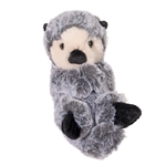 Stuffed Baby Otter Lil' Handfuls Plush by Douglas