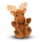 Stuffed Baby Moose Lil Handfuls Plush by Douglas