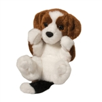 Stuffed Beagle Puppy Lil Handfuls Plush by Douglas