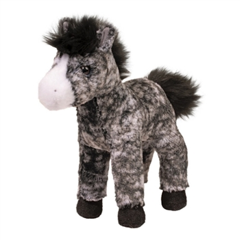 Adara the Plush Dapple Gray Horse by Douglas