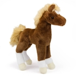 Teak the Stuffed Chestnut Horse Foal by Douglas