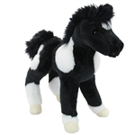 Runner the Stuffed Black and White Horse Foal by Douglas