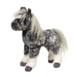 Majestic the Stuffed Gray Dapple Horse Foal by Douglas