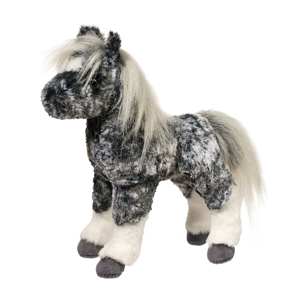 stuffed gray dapple horse foal douglas stuffed safari