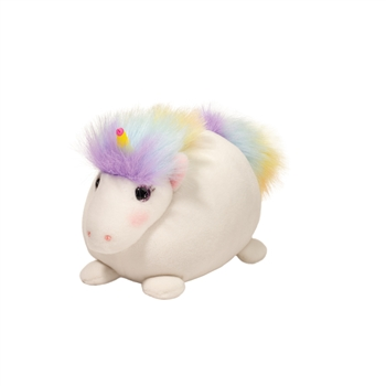 Lil Candy Horn the Small Rainbow Macaroon Plush Unicorn by Douglas