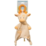 Plush Spotted Giraffe Teether Blanket Lil Sshlumpie by Douglas