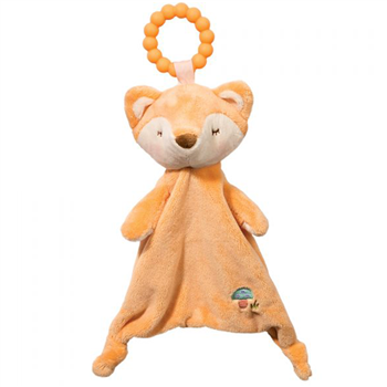 Plush Fox Teether Blanket Lil Sshlumpie by Douglas