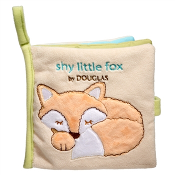 Shy Little Fox Plush Baby Book by Douglas