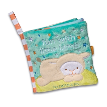 Fun with Little Lamb Plush Baby Book by Douglas