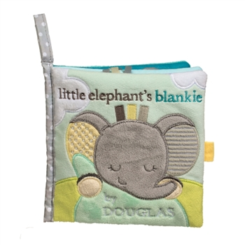 Little Elephants Blankie Plush Baby Book by Douglas
