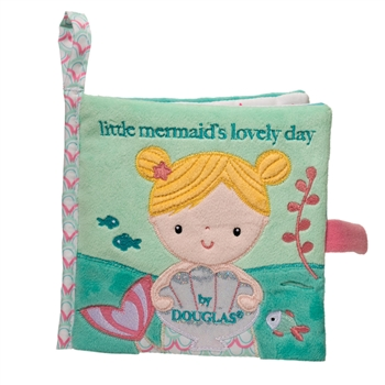 Little Mermaids Lovely Day Plush Baby Book by Douglas
