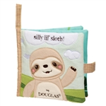 Silly Lil Sloth Plush Baby Book by Douglas