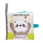 Happy Little Panda Plush Baby Book by Douglas