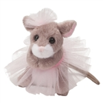 Tippy Toe the Stuffed Mouse in a Tutu by Douglas