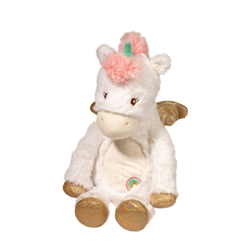 Baby Safe Softly Stuffed Unicorn Plumpie by Douglas