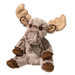 Marshall the Small Softly Stuffed Moose Pudgie by Douglas