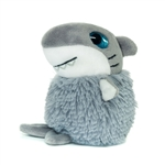 Bill the Pom Pals Shark Stuffed Animal by Fiesta