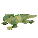 Small Green Iguana Stuffed Animal by Fiesta