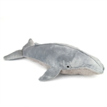 Stuffed Blue Whale 18 Inch Plush Whale by Fiesta