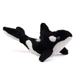 Stuffed Orca 9 Inch Plush Killer Whale by Fiesta