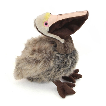 Stuffed Brown Pelican 14 Inch Plush Bird By Fiesta