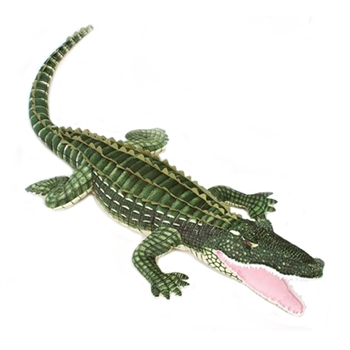 Jumbo Stuffed Alligator 72 Inch Plush Reptile by Fiesta