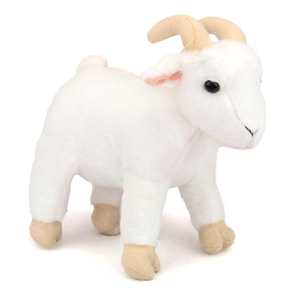 Standing White Stuffed Billy Goat Fiesta Stuffed Safari