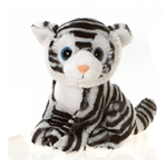 Wego the Big Eyes White Tiger Stuffed Animal by Fiesta
