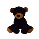 Comfies Black Bear Stuffed Animal by Fiesta