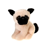 Pugsley the Big Eyes Pug Stuffed Animal by Fiesta