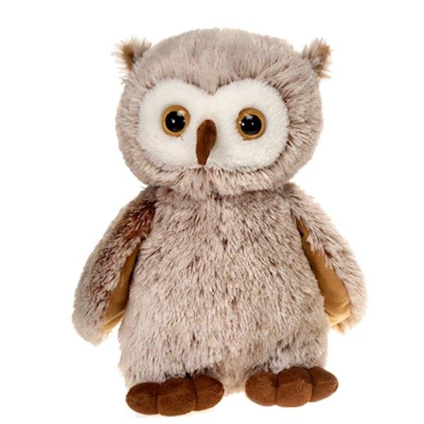 Large Standing Stuffed Owl By Fiesta At Stuffed Safari