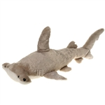 Large Stuffed Hammerhead Shark 28 Inch Plush Animal by Fiesta