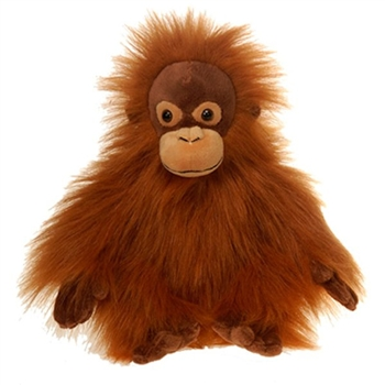 Bean Bag Orangutan Stuffed Animal by Fiesta