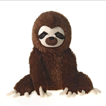 Large Sitting Stuffed Three-Toed Sloth by Fiesta