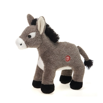 Dominic the Stuffed Donkey with Sound by Fiesta