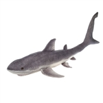 Jumbo Realistic Great White Shark Stuffed Animal by Fiesta