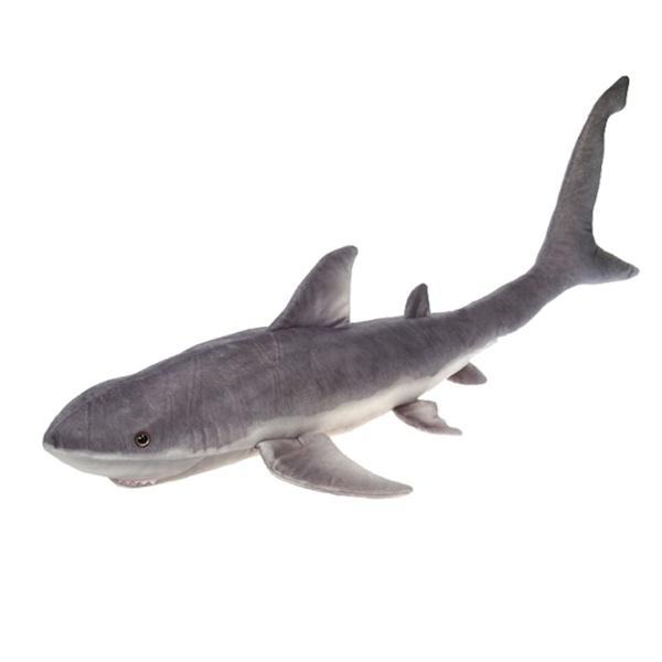 Jumbo Realistic Great White Shark Stuffed Animal Fiesta Stuffed