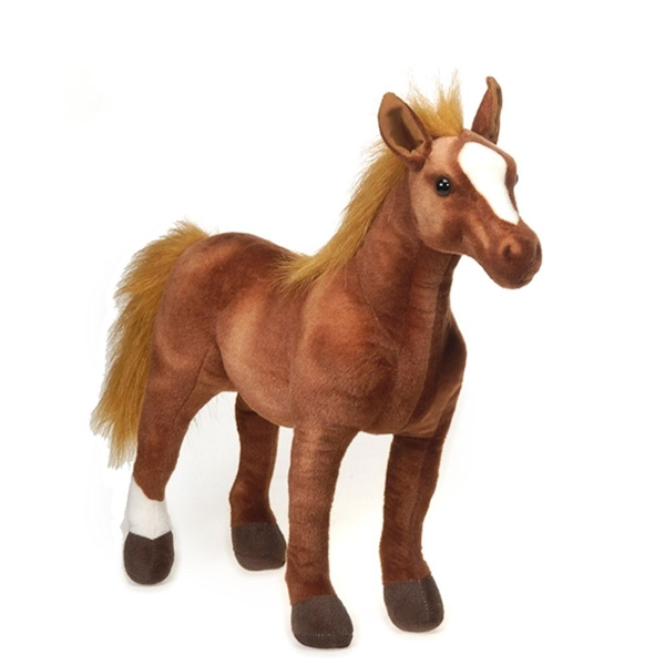 Large Standing Thoroughbred Horse Stuffed Animal By Fiesta At