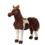 Large Standing Mustang Stuffed Animal by Fiesta