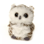 Small Plush Snowy Owl by Fiesta