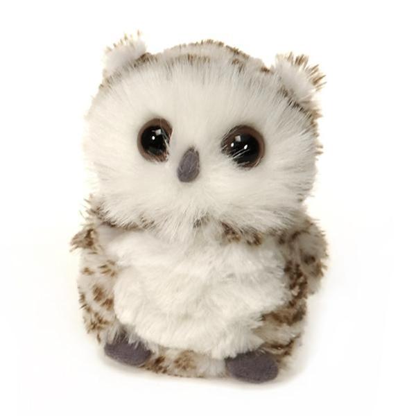 Small Plush Snowy Owl By Fiesta At Stuffed Safari