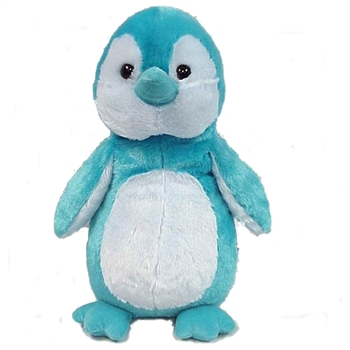 Stuffed Turquoise Penguin 16 Inch Plush Animal by Fiesta