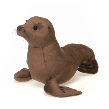 large stuffed sea lion 20 inch plush animal by fiesta at stuffed safari. Black Bedroom Furniture Sets. Home Design Ideas