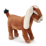 Realistic Nubian Goat Stuffed Animal by Fiesta